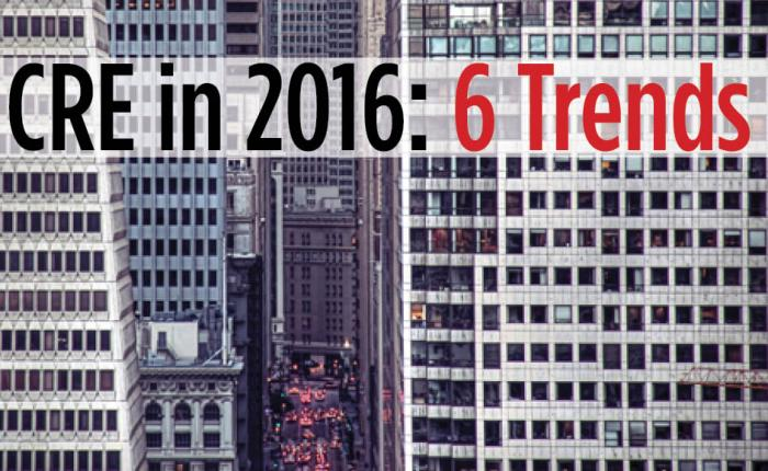 COMMERCIAL REAL ESTATE IN 2016 – 6 TRENDS