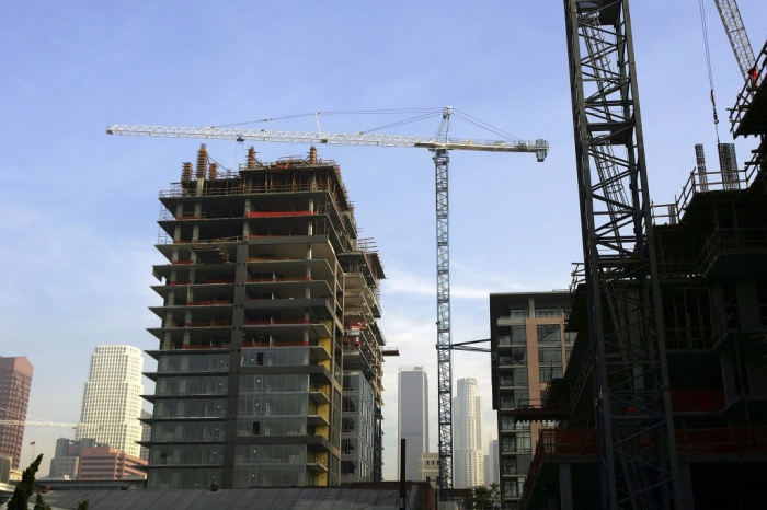 Los Angeles County is becoming a renter's paradise: Building permits for multi-unit properties in Los Angeles soars to meet rentingdemand.