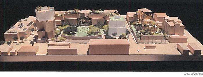 FRANK GEHRY WANTS TO BUILD A HUGE MIXED-USE CAMPUS IN THE HEART OF BEVERLY HILLS