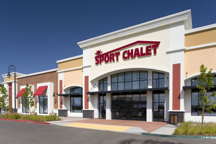 VESTIS DECLARES BANKRUPTCY, WILL CLOSE ALL SPORT CHALETSTORES