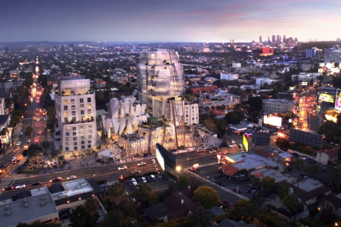 FRANK GEHRY SUNSET STRIP PROJECT GETS APPROVAL FROM LA CITY COUNCIL