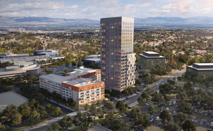 New Warner Center mixed-use development will likely bring 24-story tower plus 206 apartments