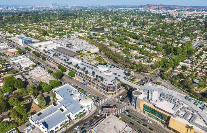 GOOGLE TO LEASE  WESTSIDE PAVILION REDEVELOPMENT